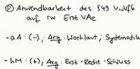 Tafelbild - Problem - Anwendbarkeit des § 49 VwVfG auf rechtswidrige Erst-Verwaltungsakte