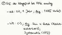Tafelbild - Problem - Klagefrist bei § 113 I 4 VwGO analog
