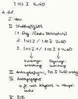 Tafelbild - § 123 I VwGO (Zulässigkeit)