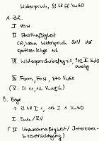 Tafelbild - Widerspruch, §§ 68 ff. VwGO