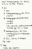 Tafelbild - Konkrete Normenkontrolle, Art. 100 GG, §§ 13 Nr. 11, 80 ff. BVerfGG