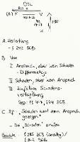 Tafelbild - Drittschadensliquidation (DSL)