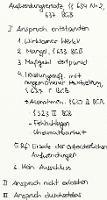 Tafelbild - Aufwendungsersatz, §§ 634 Nr. 2, 637 BGB