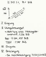 Tafelbild - §§ 929 S. 1, 931 BGB