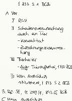 Tafelbild - § 833 S. 1 BGB