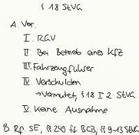 Tafelbild - § 18 StVG