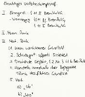 Tafelbild - Einaktiges Vollstreckungsverfahren, § 11 II BremVwVG