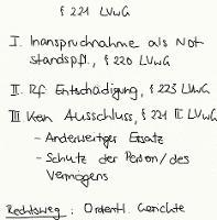 Tafelbild - § 221 LVwG