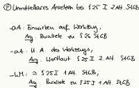 Tafelbild - Problem - Unmittelbares Ansetzen bei § 25 I 2. Alt. StGB