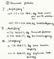 Tafelbild - Problem - Omnimodo facturus