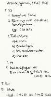 Tafelbild - Verstrickungsbruch, § 136 I StGB