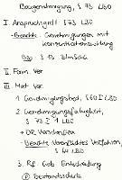 Tafelbild - Baugenehmigung, § 73 LBO
