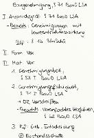 Tafelbild - Baugenehmigung, § 71 BauO LSA