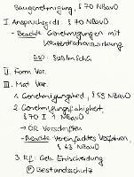 Tafelbild - Baugenehmigung, § 70 NBauO