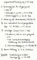 Tafelbild - Außerordentliche Kündigung, § 626 BGB