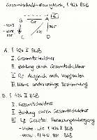 Tafelbild - Gesamtschuldnerausgleich, § 426 BGB
