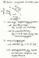 Tafelbild - Problem - Anfechtung einer bereits ausgeübten Innenvollmacht
