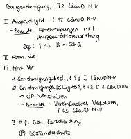 Tafelbild - Baugenehmigung, § 72 LBauO M-V