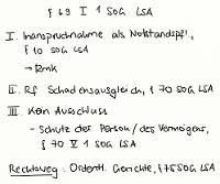 Tafelbild - § 69 I 1 SOG LSA
