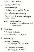 Tafelbild - Darstellung der Anträge