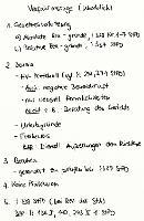Tafelbild - Verfahrensrüge (Überblick)