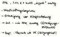 "Tafelbild - Fortsetzungsfeststellungsklage, § 113 I 4 VwGO ""doppelt"" analog"