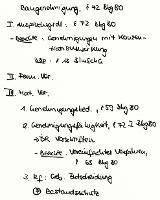 Tafelbild - Baugenehmigung, § 72 BbgBO
