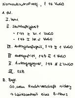 Tafelbild - Normenkontrollverfahren, § 47 VwGO