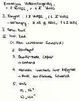Tafelbild - Einaktiges Vollstreckungsverfahren, § 8 VwVfG Bln, § 6 II VwVG