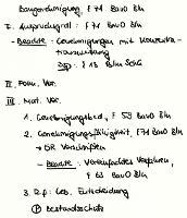 Tafelbild - Baugenehmigung, § 71 BauO Bln