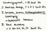 Tafelbild - Genehmigungsbedürftigkeit, § 59 BauO Bln