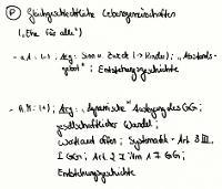 """Tafelbild - Problem - Gleichgeschlechtliche Lebensgemeinschaften  (""""Ehe für alle"""")"""