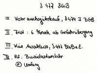 Tafelbild - Beweislastumkehr, § 477 BGB