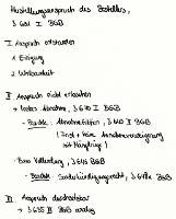 Tafelbild - Herstellungsanspruch des Bestellers, § 631 BGB