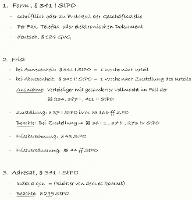 Tafelbild - Ordnungsgemäße Einlegung, § 341 StPO